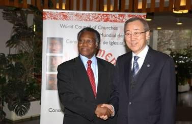Ban Ki Moon andS.Kobia